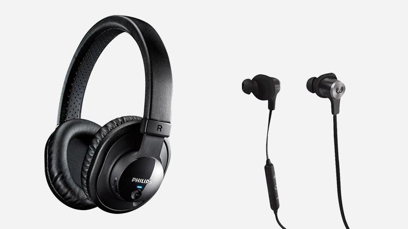 Hulp bij het kiezen van een koptelefoon of oordopje