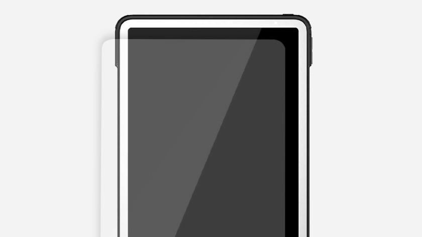 Case friendly screenprotector op iPad