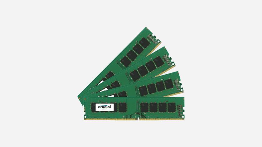 RAM werkgeheugen modules.