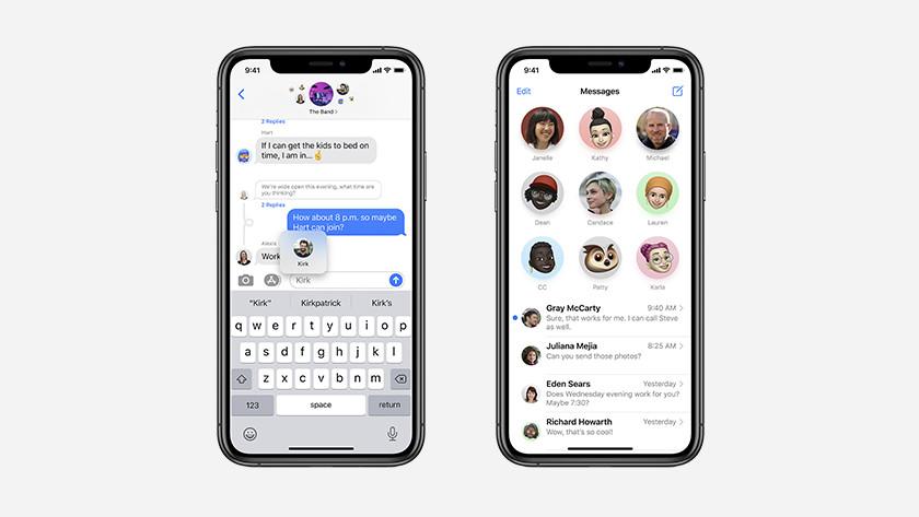 iPhone berichten