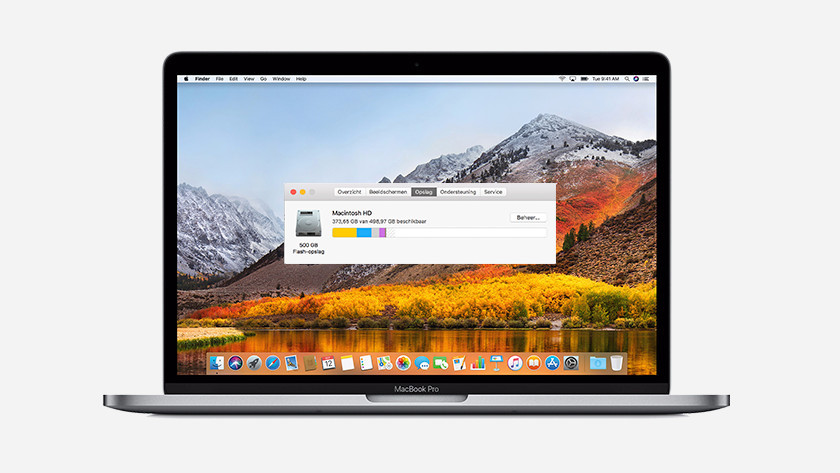 Apple MacBook Pro opslag
