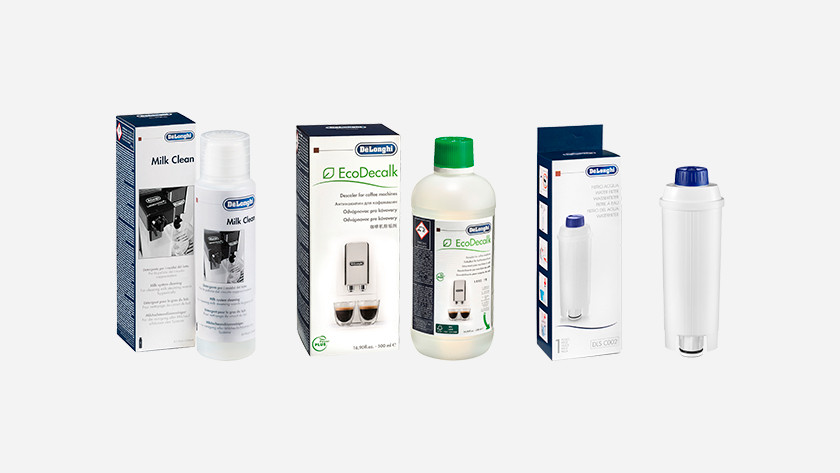 Use care products from delonghi own brand