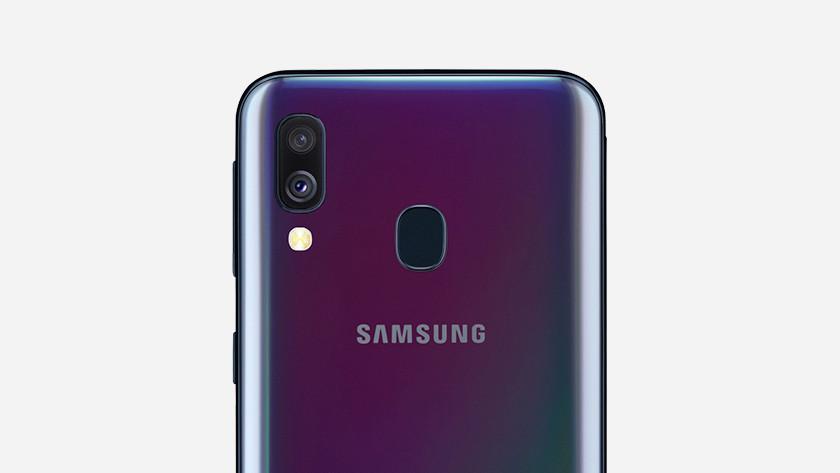caméra samsung galaxy a40
