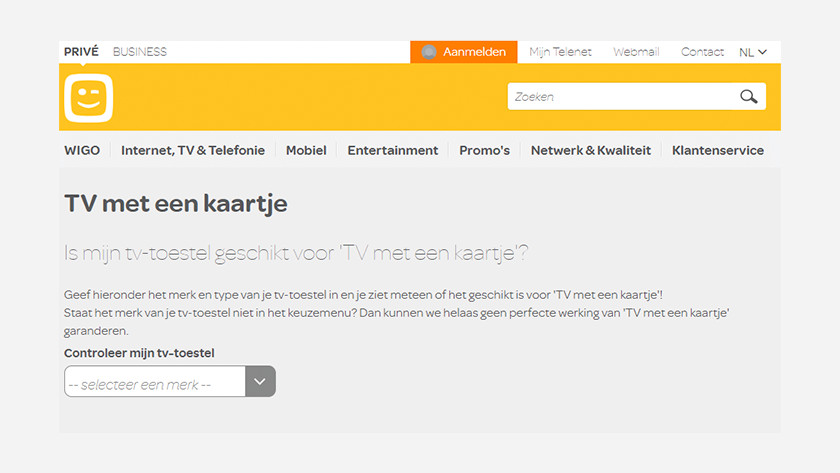 Page Telenet