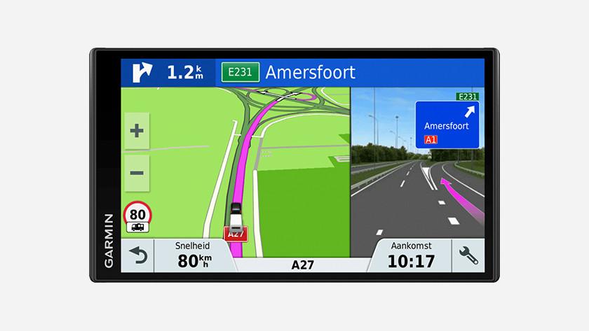 Navigation avec DAB +