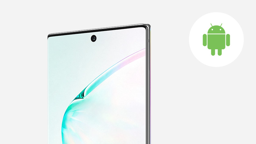 Samsung Galaxy Note 10 operating system