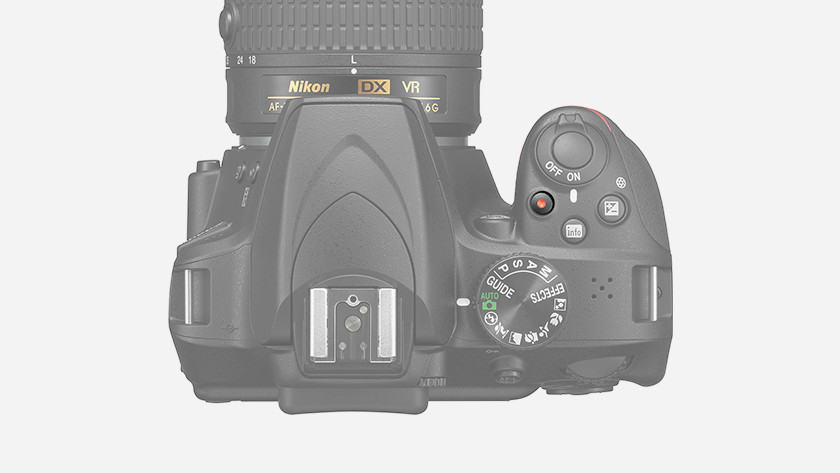 Videofuncties D3400