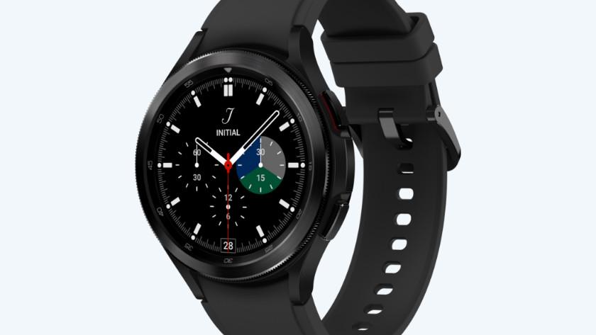 Samsung Galaxy Watch4 Classic zwart ontwerp