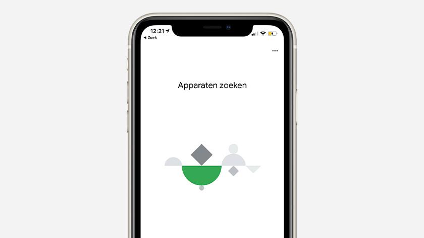 Google Home nieuw apparaat toevoegen
