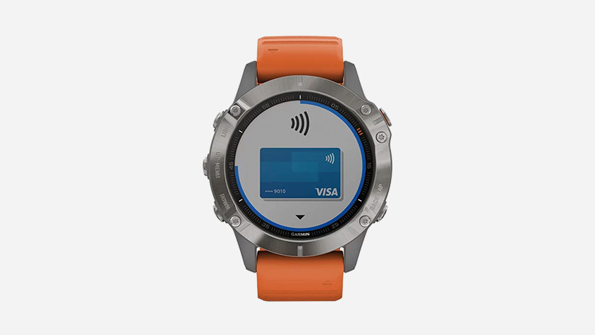 Fenix 6 met Garmin Pay