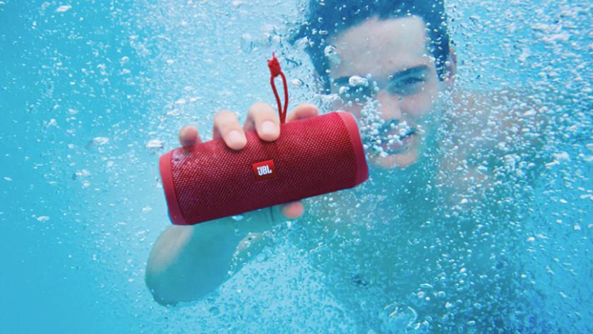 Speaker onderwater