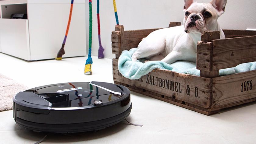 Use robot vacuum