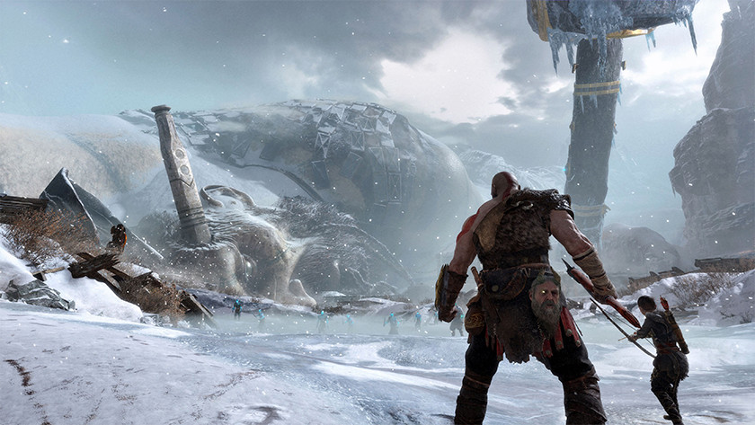 God of War on the PS4 Pro