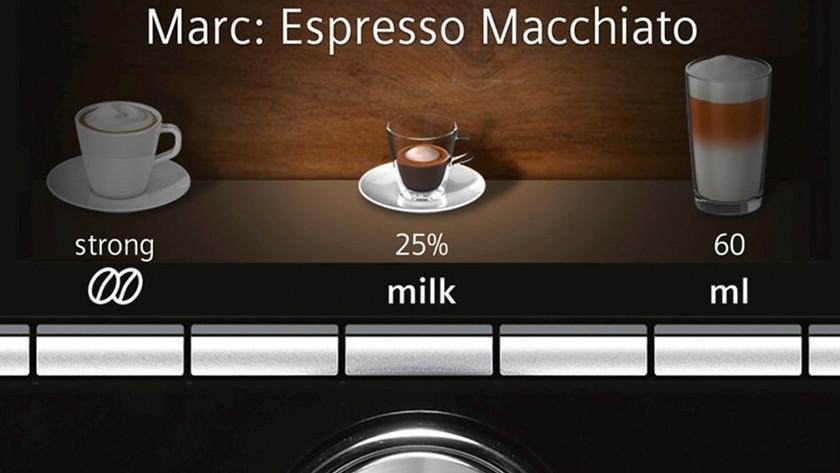 koffierecept samenstellen