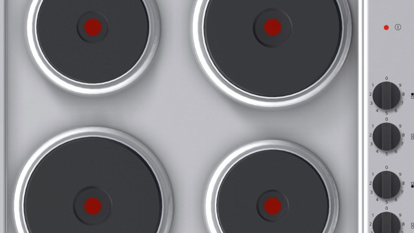 traditional electric cooktop