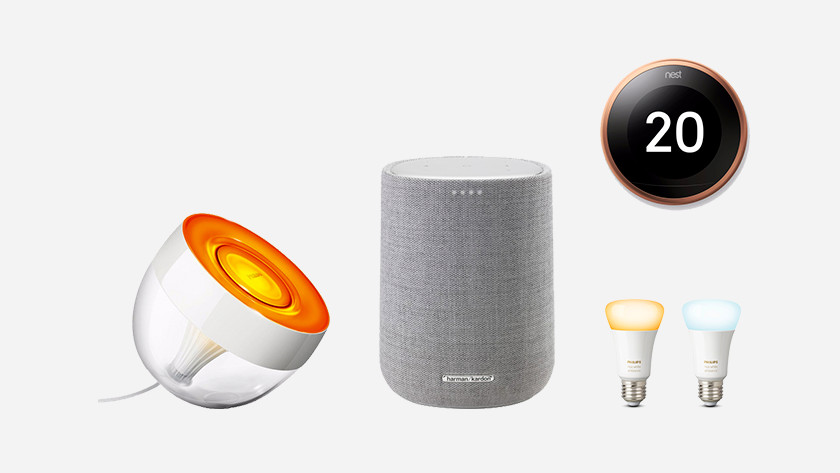 Koppelbare producten Google Assistent