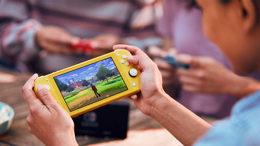 Jouer à Nintendo Switch Lite