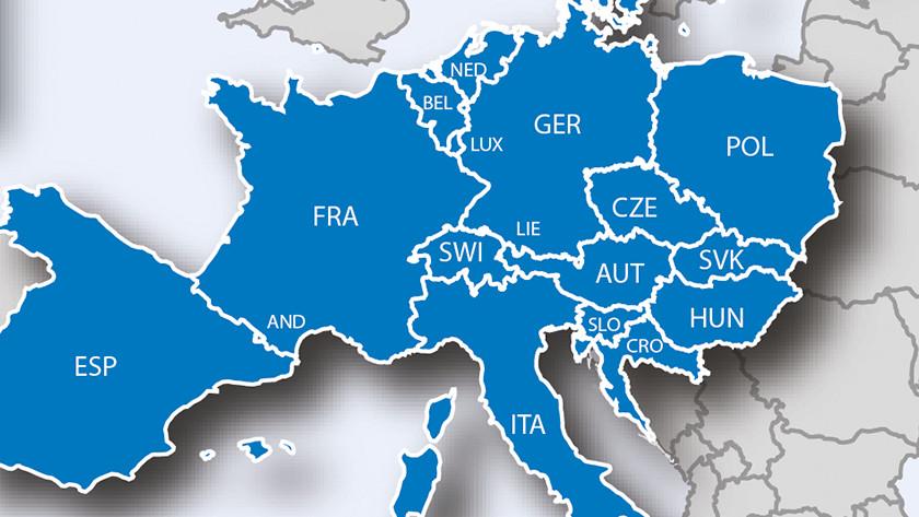 Map coverage car navigation