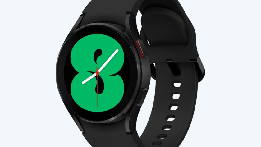 Samsung Galaxy Watch4 zwart ontwerp