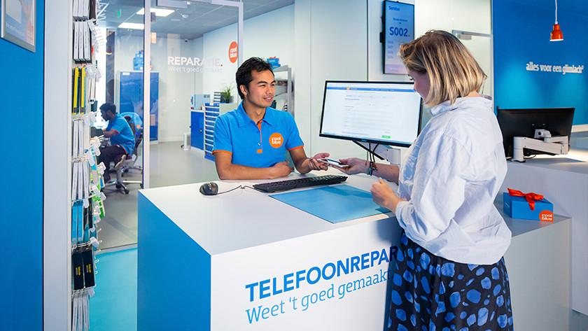 Coolblue winkel reparatie Huawei telefoon