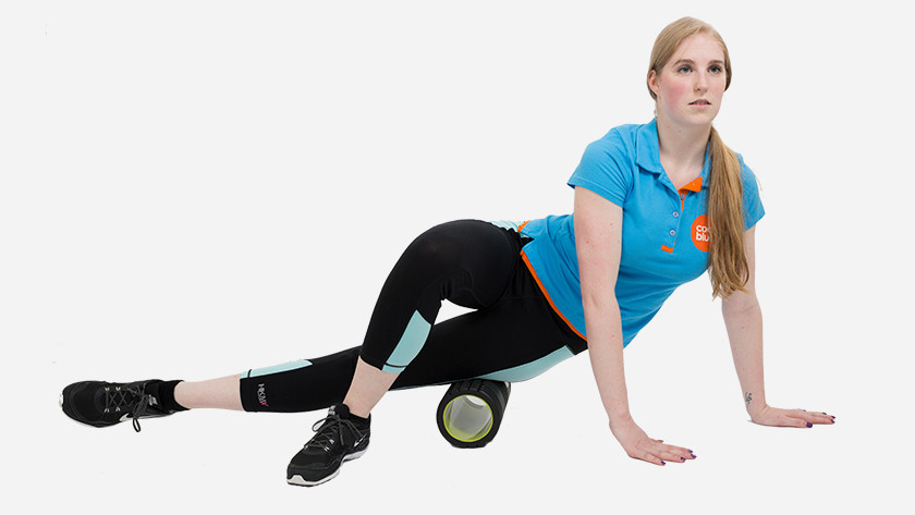 thigh and hip foam roller