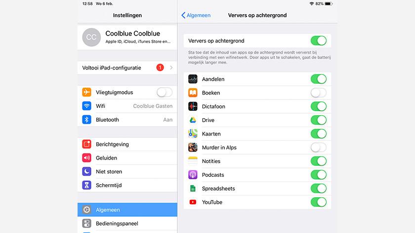 Actualisation en arrière-plan iOS