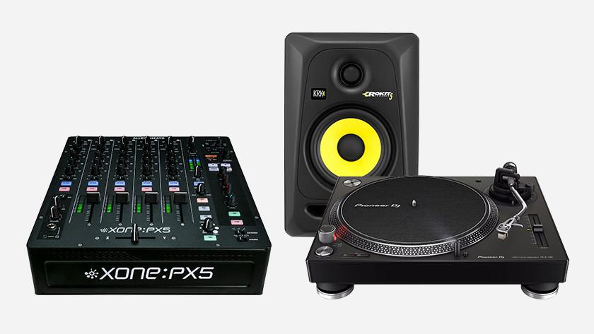 Meer over DJ gear