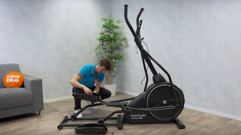 Fitness apparaat installeen