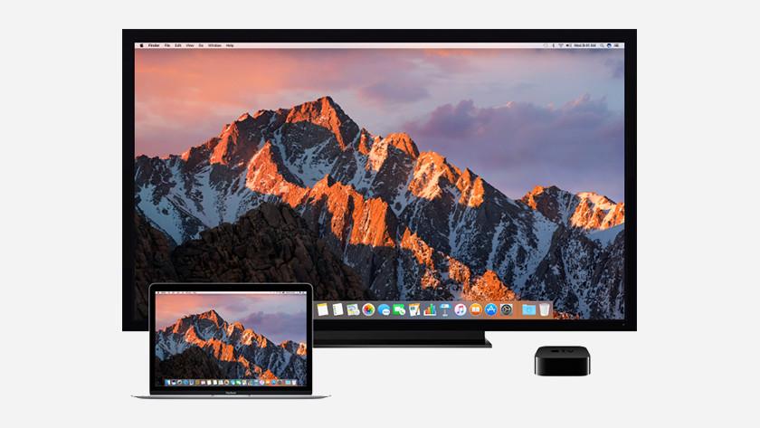 Mirror Apple MacBook screen on Apple TV