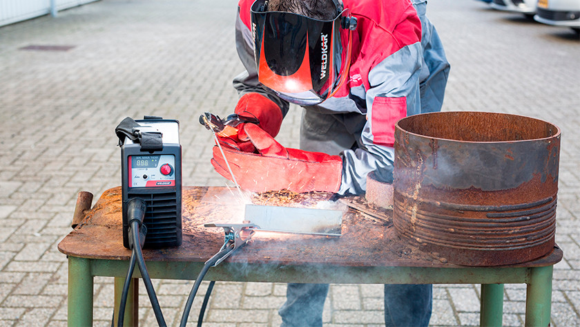 When do you use electrode welding?