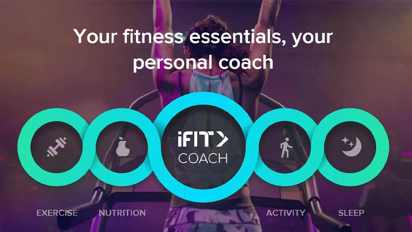iFit gepersonaliseerde coaching