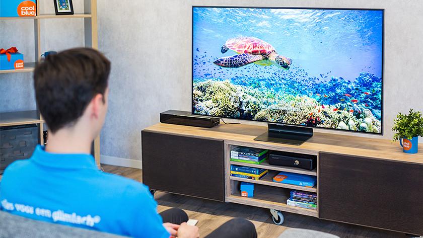 Beeldkwaliteit instellen Samsung Q90R