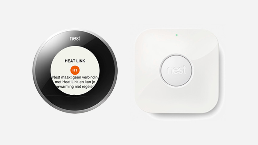 The Nest Thermostat Doesn T Connect To The Heat Link Coolblue Before 23 59 Delivered Tomorrow