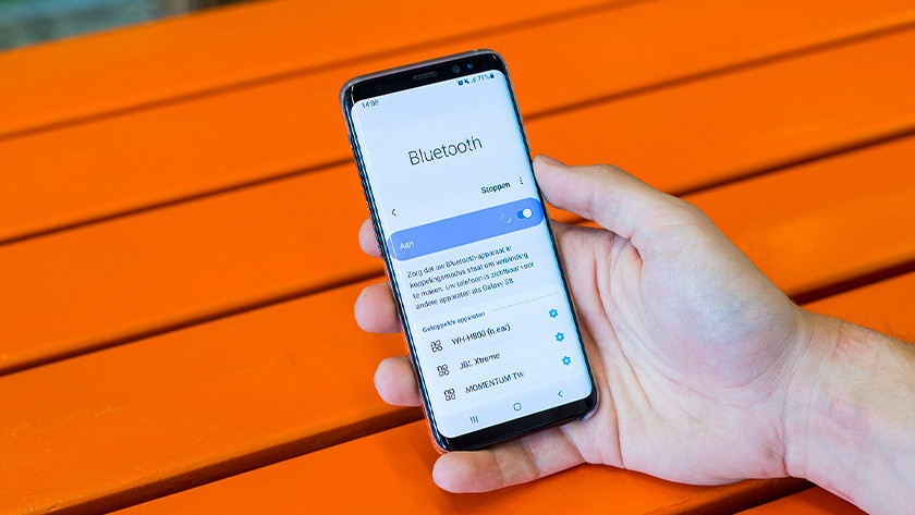 Bluetooth scherm smartphone