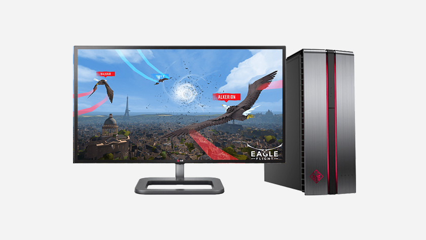 Jeu en réalité virtuelle Eagle sur PC.
