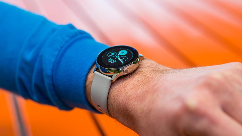 Samsung Galaxy Watch Active design scherm