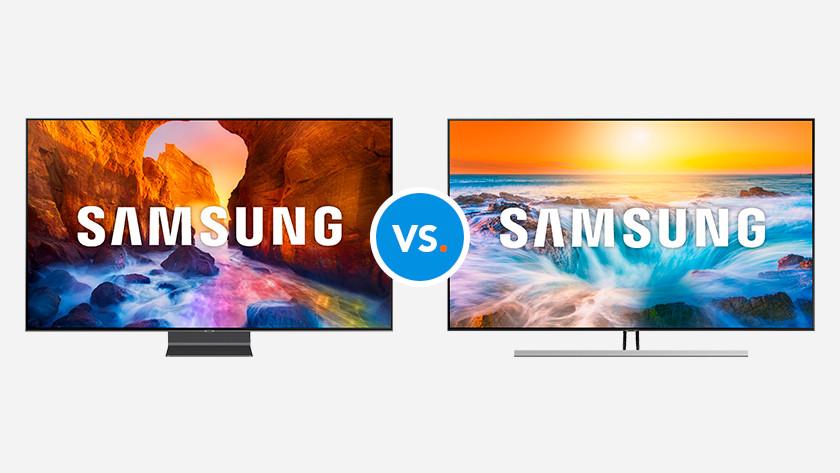 Comparez les télévisions Samsung
