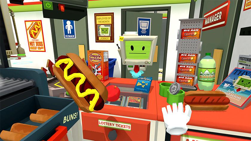 Job simulator werk baan