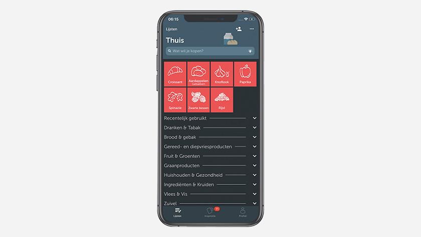 Boodschappen app
