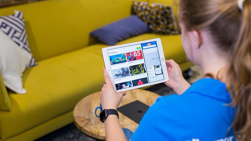 Split screen on the Apple iPad