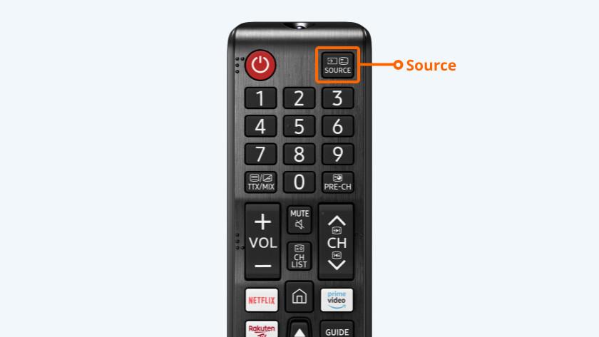 De juiste bron voor telenet tv ontvanger selecteren