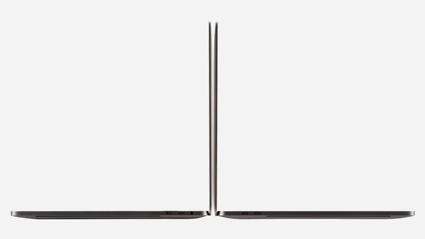 """De aansluitingen van MacBook Pro 15"""""""