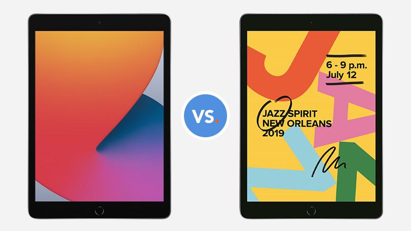 iPad (2020) and iPad (2019)
