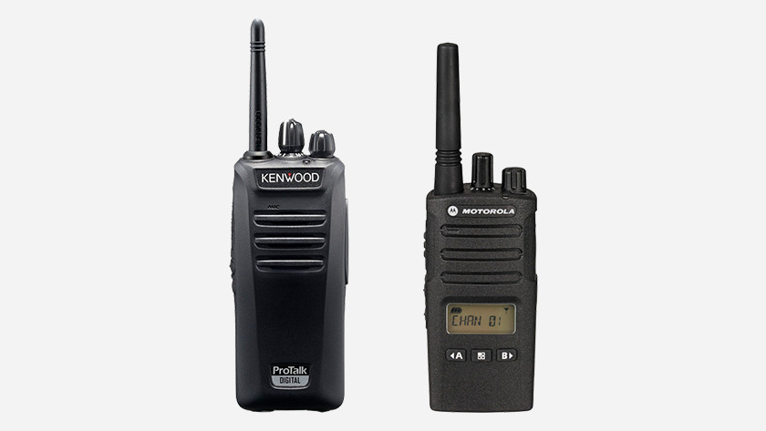 Two-way radio change license