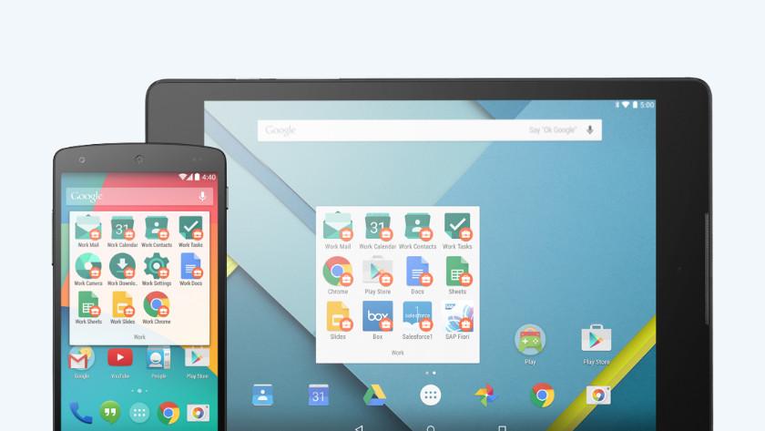 Android zakelijk veilig