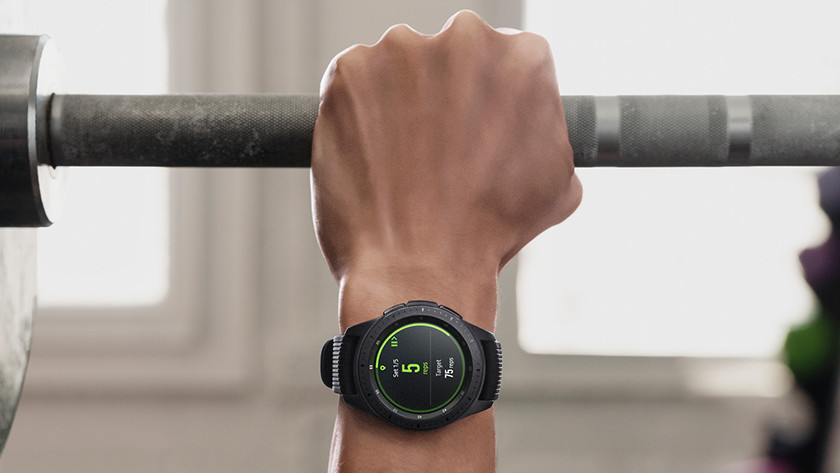 Samsung Galaxy Watch profils de sport et bracelet de sport