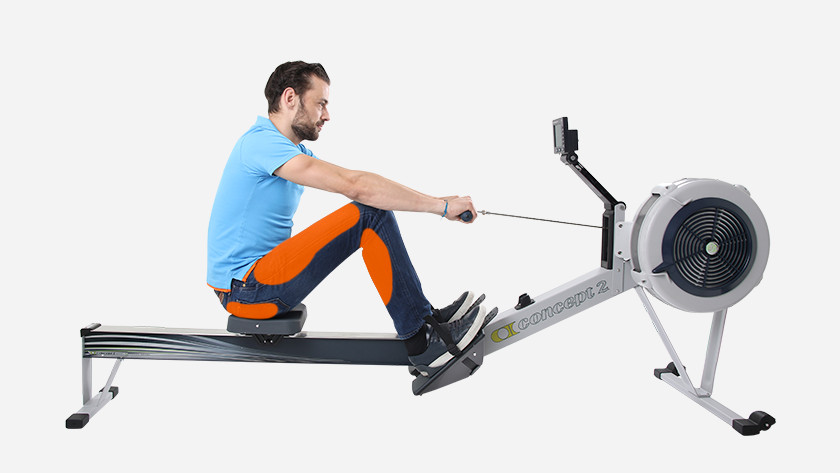 Rowing machine leg muscles and glutes