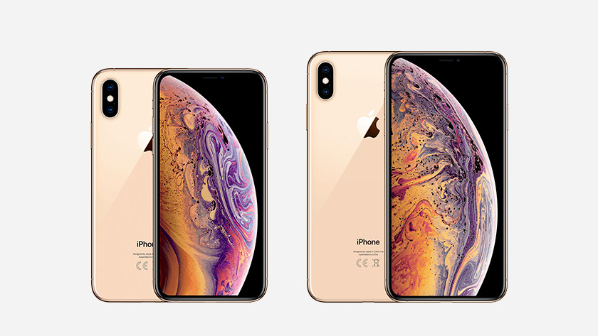 iPhone Xs en Xs Max Goud