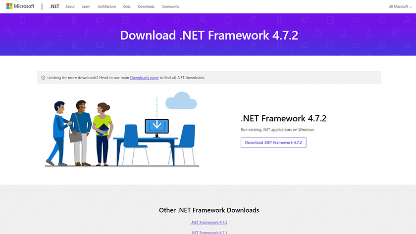 DotNet Framework installeren