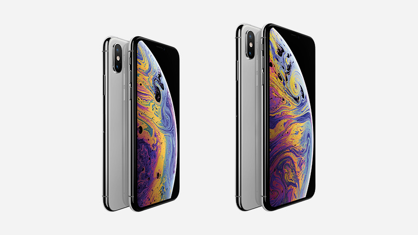 iPhone Xs en Xs Max Zilver